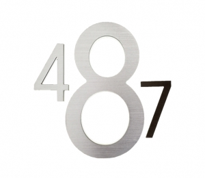 Modern 10″ Bronze Backlit Numbers