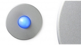 Satin Round Doorbell Button