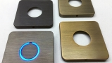 Square Modern Touch Doorbell Button
