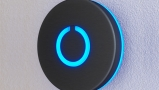 Black Touch Doorbell Round Button